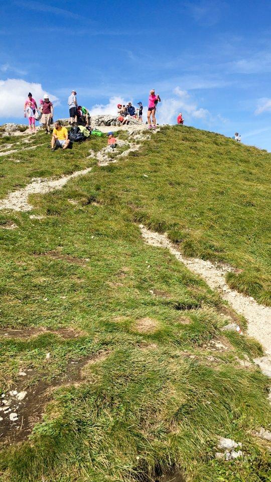 na vrcholu II
